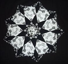 Dorothea: mandala quilt