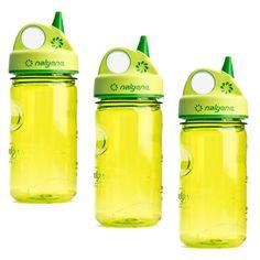 Nalgene Grip-n-Gulp Water Bottle – 3 Pack (Back to School) ** Follow me on www.MommasBacon.com **
