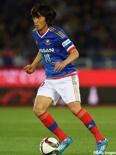 Shunpike Nakamura - Japón - Yokohama F Marinos - MF Yokohama, National Football Teams, Samurai, Athlete, Soccer, Running, News, Blue, Sailor