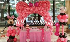 Minnie Mause balloons decoration by Just balloons