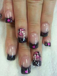 Pink n black by Tonya