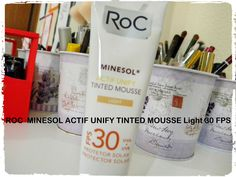ROC  MINESOL ACTIF UNIFY TINTED MOUSSE Light 30 FPS
