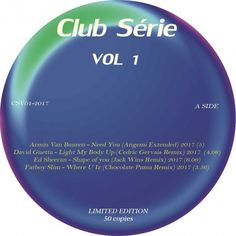 Club Série vol 1 (LP Comp Limited Edition 50 copies) 2017