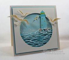 Lighthouse and Sea Birds IDEE