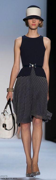 #NYFW Badgley Mischka Spring 2014 RTW http://www.nytimes.com/fashion