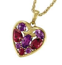 Heart-To-Heart Earring & Pendant Set - The Danbury Mint