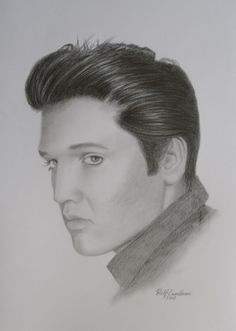 Drawing Elvis