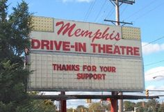 Memphis Drive-In; you can't be a native Clevelander and NOT miss this place! :(