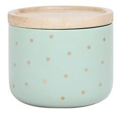 General Eclectic - small canister - Mint & Gold spot