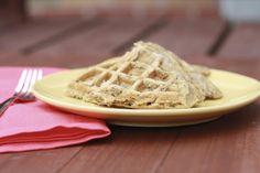Banana Nut Bread Waffles