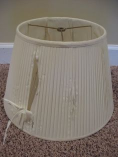Covering a Lampshade - Southern Hospitality Recover Lamp Shades, Bedside Lamps Shades, Old Lamp Shades, Painting Lamp Shades, Modern Lamp Shades, Covering Lamp Shades, Modern Lamps, Cover Lampshade, Wooden Lampshade