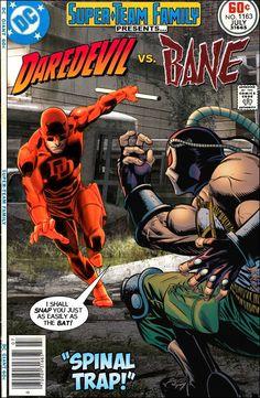 Super-Team Family: The Lost Issues!: Daredevil Vs. Bane