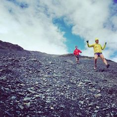 Emelie Forsberg Photography: And the first Mount Marathon downhill! It can be fast, or it should be fast! #TrailRunning