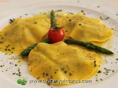 Ravioli with Asparagus