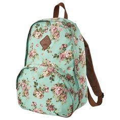 Mossimo Turquoise Backpack from Target  how cute! I would totally get this if only I had more school. It feels really good quality.