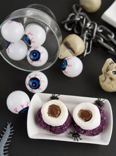 Monster Eyeballs #vegan #healthybaking Healthful Pursuit   Healthful Pursuit