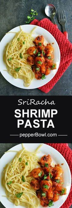 SriRacha Shrimp recipe is simple and easy. This hot and spicy recipe can be made in moments like a magic in the kitchen.with step by step pictures | http://pepperbowl.com