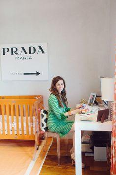 Fashion Designer Sheridan French // office // Prada Marfa // photography by Melissa Zihlman