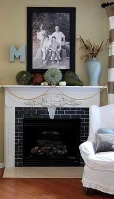 nontraditional fall decor