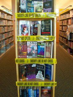 Crime Book Display