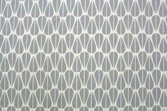 Bio-Stoffe - BIO Canvas - Leaves Grey - ein Designerstück von stoffsalon bei DaWanda