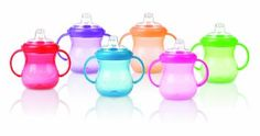 Nuby No Spill Cup, 10-Ounce, Multi, 1-Pack