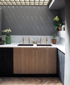 Our beautiful new Sebastian Cox Kitchen in our London showroom, located in the exciting design district of Clerkenwell