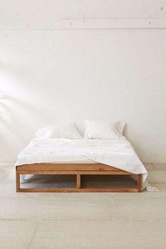 Morey Platform Bed. #bed #bedroom #minimal in Bedroom