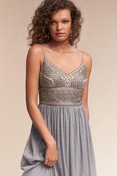 Silver Grey Aida Dress   BHLDN