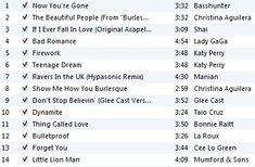 Run, run, run playlist
