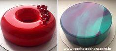 A Cobertura de Vidro para Bolos tem um acabamento perfeito e brilhante, ideal para quem quer causar um grande impacto com a decoração do bolo. Faça e surpr
