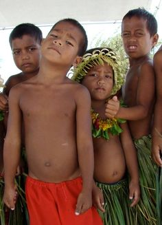 Christmas Island Children