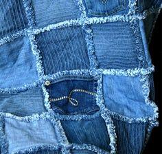 sy lapptäcke jeans inspiration sömnad tips handarbete ide