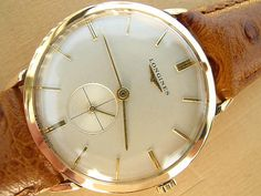 Longines Gold Watch | Vintage Watches