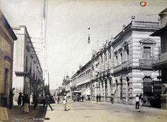 Calle Nacional Hacia 1900-1920