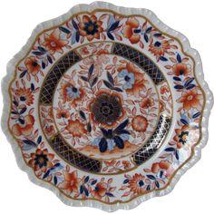 Hicks & Meigh Plate, Stone China,  Pattern 20,  19th C English Imari