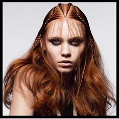 Braids #hairstyle #hairinspiration #braids #braidstyles #love2braid #inspiration #hairstylist #hair #braid #colorbraids #coloured braids