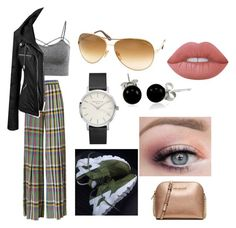"""""""weirdo lazy outfit"""" by destgreen on Polyvore featuring Marco de Vincenzo, Tom Ford, Bling Jewelry, Lime Crime and MICHAEL Michael Kors"""