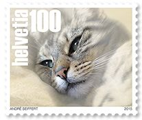 5 March 2015: Swiss Pet Stamps with Cat - Google Search