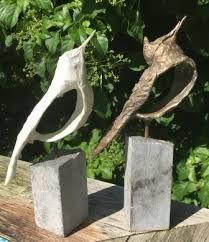 Afbeeldingsresultaat voor zelfdrogende klei vogel Paper Mache Sculpture, Abstract Sculpture, Sculpture Art, Welding Art Projects, Clay Birds, Ceramic Pots, Clay Animals, Metal Crafts, Bird Art