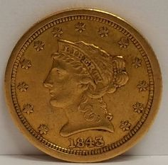 1843-O $2.50 Gold Liberty Extremely Fine
