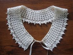 Hey, I found this really awesome Etsy listing at https://www.etsy.com/listing/182982489/crochet-collar-necklace-with-adjustable