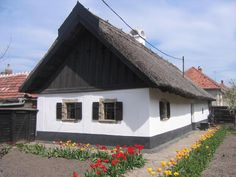 Mezőkövesd Vernacular Architecture, Architecture Design, Hungary, Budapest, Shed, Farmhouse, Cottage, Outdoor Structures, Cabin