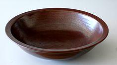 Torsten Mosumgaard, big bowl in stoneware with ironglaze. Own studio Denmark. W: 29 cm.