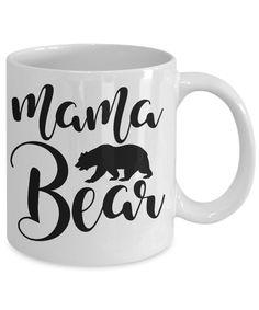 2fbfbcfe860b5 Mama bear Coffee mug Gift for mom mother grandma women custom mug