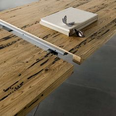Wooden design table Skinny   milanomondo