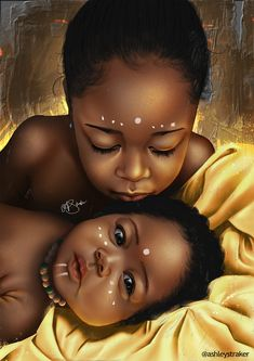 Black Art Family African Americans 63 New Ideas Black Love Art, Black Girl Art, Art Girl, Black Girls, Black Girl Cartoon, Art Et Design, Diy Design, Afrique Art, Black Art Pictures