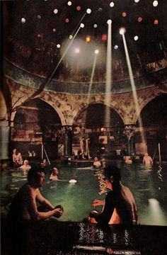 Rudas Thermal Bath, Budapest, Hungary