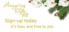 Visit Amaysing Gifts today to sign up to become a VIP member. You will Receive Exclusive Giveaway and Sale Info before Anyone Else! Be the first to get in on our Black Friday event!