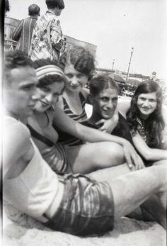 1920's beach